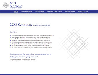 2cgsenhouse website