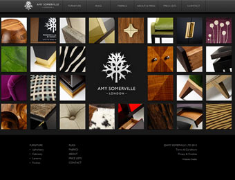 Amy Somerville Furniture Website