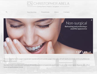 click here to view more details about:chris abela : consultant plastic surgeon