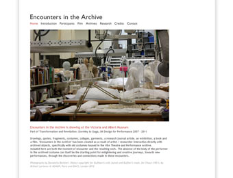 Encounters in the Archive
