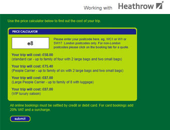 the new heathrow gateway page
