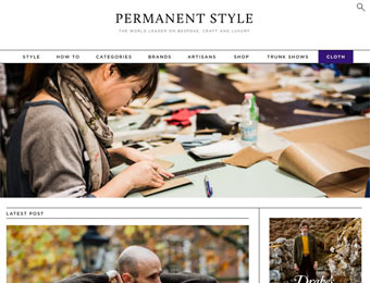 permanent style blog